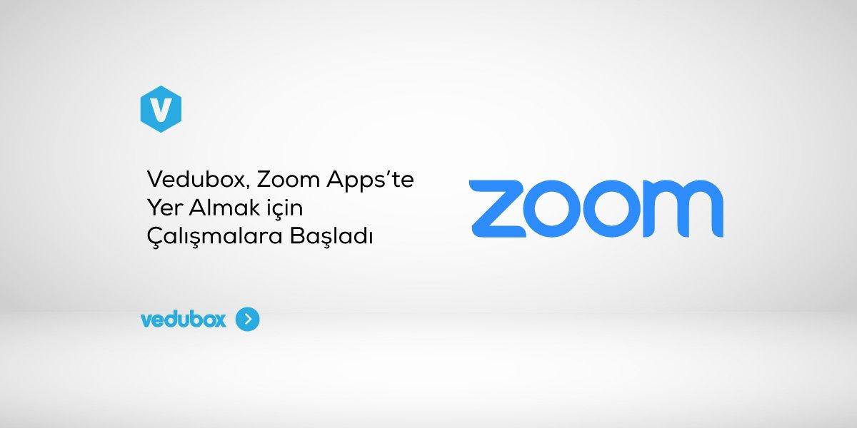 Vedubox, Zoom Apps'te Yer Almak için Çalışmalara Başladı